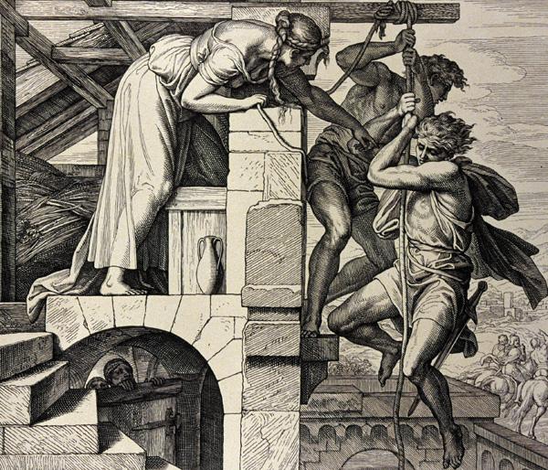 Clemente de Roma y Rahab la ramera